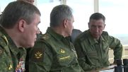 Russia: DefMin Shoigu attends Kavkaz-2016 strategic military drills