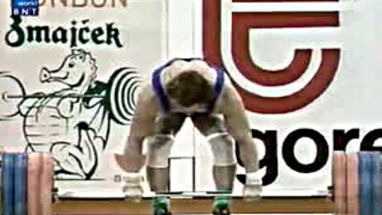 Световно първенство по вдигане на тежести в Любляна - кат. 75 кг (1982)
