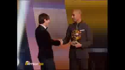 Messi Wins Golden Ball and Footballer of the Year - 2010