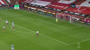 Шефилд Юнайтед - Манчестър Сити 0:1 /първо полувреме/