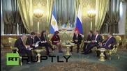 Русия: Putin и Kirchner се срещат в Кремъл