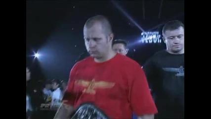 Fedor Emelianenko vs Kevin Randleman (intros only)