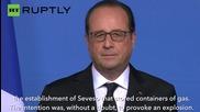 "Gas Factory Assault is ""Terrorist Attack"" - French President Hollande"