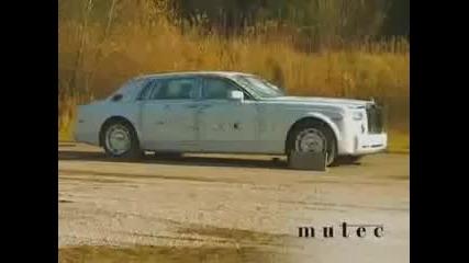 Rolls Royce Phantom Издържа на бомби, калашник, снайпер