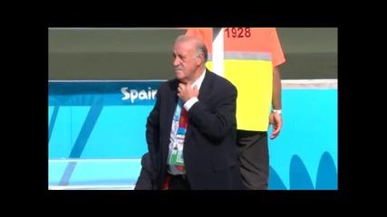 Австралия 0:3 Испания( 23.юни.2014)