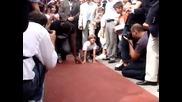 Невероятно! Вижте как петгодишно дете надбяга Юсейн Болт.
