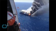 Greenpeace Criticizes Spain for Towing Burning Fishing Boat From Canary Islands Port