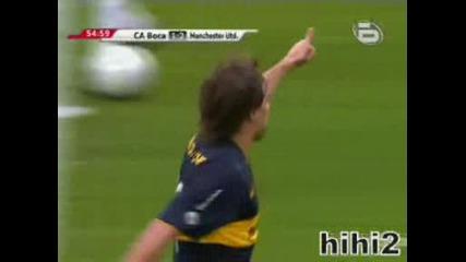 Boca Juniors vs Manchester United (29.07.09)