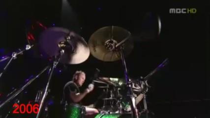 Metallica James Hetfield Sad But True Vocal Change 1991-2016