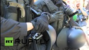 Germany: Baton-wielding riot police halt 'Stop G7' hike