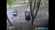 Паркиране блонди стайл