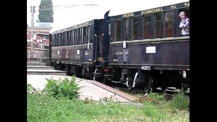 Orient Express cu dubla T Ea 692 Ea 742 pleaca din Bucuresti spre Brasov