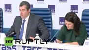 "Russia: Duma's Slutsky hails French delegation's ""historic"" visit to Crimea"