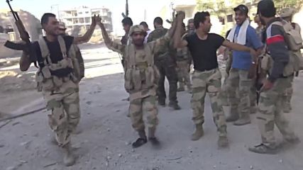 Syria: Govt. forces make gains in W. Ghouta outside Damascus
