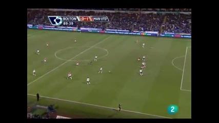 17.01 Болтън 0:1 Манчестър Юнайтед-Пореден Важен Гол На Бербатов