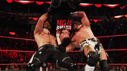 Seth Rollins & Buddy Murphy vs. Kevin Owens & Samoa Joe - Raw Tag Team Title Match: Raw, Jan. 27, 2020