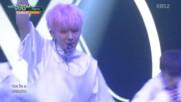 287.1007-7 Monsta X - Be Quiet & Fighter, Music Bank E856 (071016)