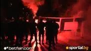 Вън боклуците от Цска, арести пред стадиона