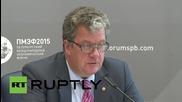 269 говорители ще има на международния икономически форум в Санкт Петербург