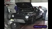 Vr6 Turbo Vw Golf Mkii dyno