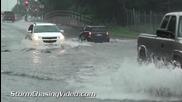 Наводнение в Урбана , Илинойс 12.7.2014