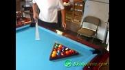 Spetacular pool trick shots