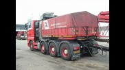 Convoi Exceptionnel With Man Truck