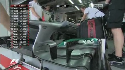 Формула1 - Япония 2012 - Квалификация - Част 3 [ 4 ] - Setanta