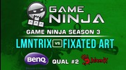 Game Ninja CS:GO #2 - LMNTRIX vs Fixated Art