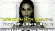 """if I Were A Boy"" Beyoncé Free Karaoke songs online with lyrics on the screen"