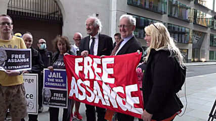 UK: Assange indictment meant to 'to cover crimes against humanity and war crimes' - Assange's father