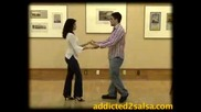 Salsa Dance  - Урок № 11 - Getting Out Of 2 - Hand Holds