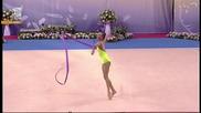 Радина Филипова - лента - Световна купа по художествена гимнастика - София 2015