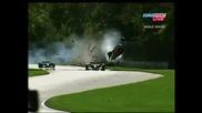 Champ Car - Katherine Legge Crash
