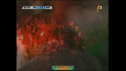 Barca 1 - 0 Milan Giuly