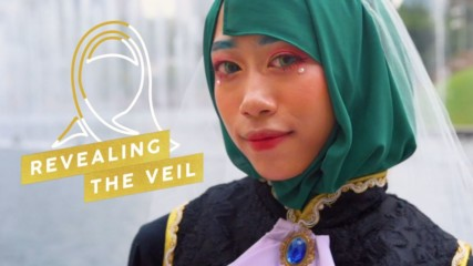 It's never odd to cosplay in a hijab