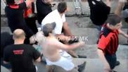 18+ ! Ужас ! Вижте какво причини македонската полиция на фен… Пелистер - Вардар - *03.08.2014*