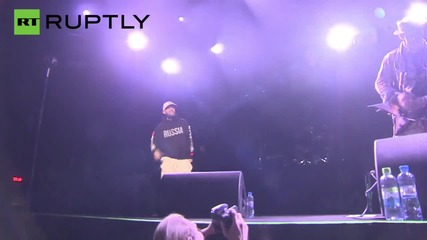 Limp Bizkit Performs in Moscow During Month Long Russian Tour