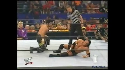 Tajiri (c) w/ Torrie Wilson vs. Billy Kidman (wwf Cruiserweight Championship Match) - Wwf Smackdown