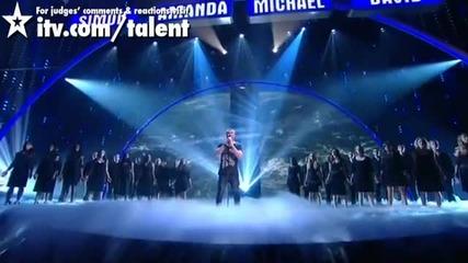 Britains Got Talent - Jai Mcdowall Live Semi-final 2011
