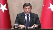 Турският премиер Давутоглу каза, че Турция ще предаде тялото на убития пилот на Русия
