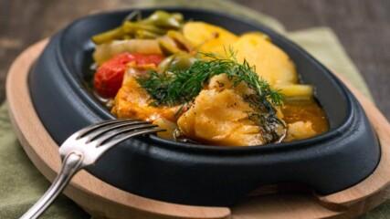 24Kitchen | Давид Скоко | Риба треска със зеленчуци