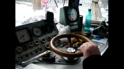 Cu locomotiva electrica la Predeal