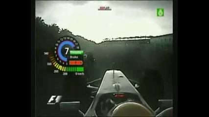 Lewis Hamilton vs Mark Webber malaysia 2009