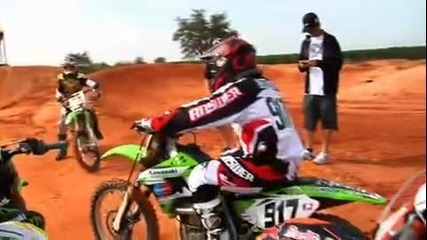 James Stewart s Private Supercross Practice