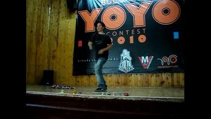 Byyc 2010 - 3 min. freestyle - Александър Бъчваров - 1st!