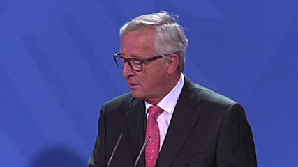 Germany: Juncker hails 'sexy' topic of a common European digital market