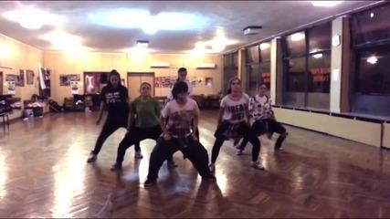 S.d. crew | the Center | Chris Brown - Sean Paul / Chris Brown - Practice