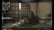 cs go ace + bomb defuse / dust 2