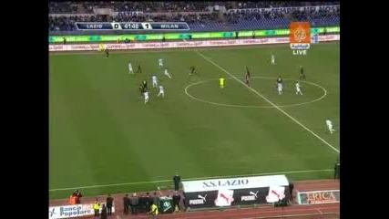 01.02 Лацио - Милан 0:3 Алешандре Пато Гол